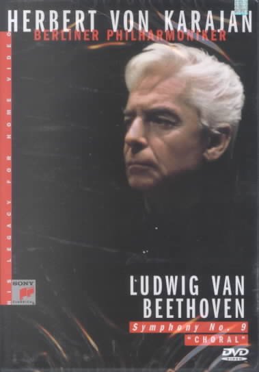 BEETHOVEN:SYMPHONY 9 CHORAL BY KARAJAN,HERBERT VON (DVD)